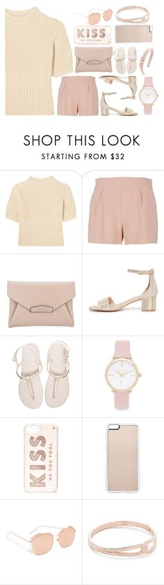 """""""This is for you"""" by gadinarmada-1 ❤ liked on Polyvore featuring Totême, Moschino, Givenchy, Havaianas, Michael Kors, Kate Spade, Zero Gravity, Linda Farrow and Salvatore Ferragamo"""