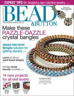 107 Bead & Button Magazine, 2012 February, #107 (Used) at Sova-Enterprises.com