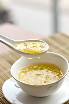 Vietnamese Pomelo Sweet Soup Dessert (Che Buoi) - Kitchen Art Store and Studio