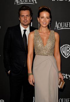 Pin for Later: Retour Sur les 31 Couples Qu'on a Perdu en 2015 Kate Beckinsale et Len Wiseman