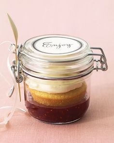 Buttermilk Cupcakes in a Jar