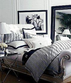 Beautiful Bedroom by Ralph Lauren Clivedon...