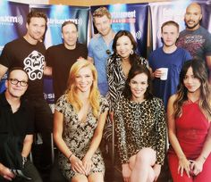 2015 SDCC Cast of Marvel's Agents of S.H.E.I.L.D.