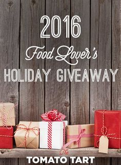 Give Away Holiday Gives for Folks Who Love to Cook