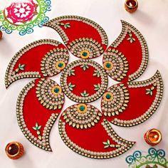 Rangoli Designs for Diwali: Buy Diwali Rangoli Online, Rangoli Stencils Diya Designs, Colorful Rangoli Designs, Rangoli Designs Diwali, Diwali Rangoli, Same Day Delivery Gifts, Womens Day Gift Ideas, Diwali Gift Hampers, Thali Decoration Ideas, Acrylic Rangoli
