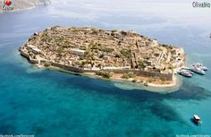 Spinalogga island, Elounda, Crete island