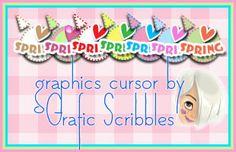 Graphics cursor spring freely downloaded http://graficscribbles.blogspot.it/2014/03/cursor-cursore-free-grafico.html