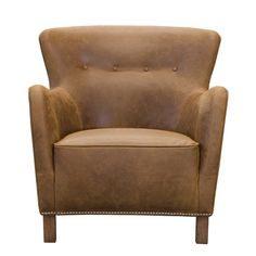 Stockholm Leather Chair from Alexander and James | Mia Stanza