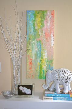 AMANDA LEFFEL ART - AL FLAIR - IG: alflair - 20 x 30 acrylic - can be hung vertical or horizontal