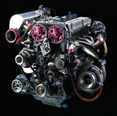 HKS Engine from the TRB-01 Racing Altezza (@HKSEurope )