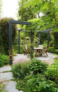 Cheap Landscaping Ideas, Small Backyard Landscaping, Backyard Ideas, Garden Ideas, Patio Ideas, Pool Ideas, Backyard Seating, Landscaping Borders, Acreage Landscaping