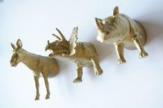 Animal magnets by Ashley / Sugar & Cloth