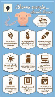 #TipsExpress para ahorrar energía en casa.