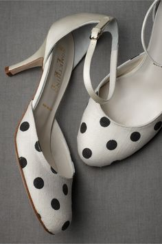 polka dot mary janes at bhldn