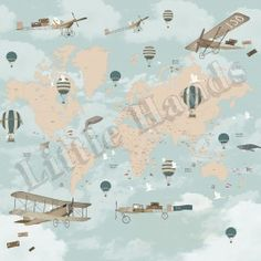 Aviator World Map