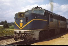 RailPictures.Net Photo: D&H 18 Delaware & Hudson Alco PA1 at Saratoga Springs, New York by George W. Hamlin