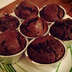 Muffins al cocco e cacao