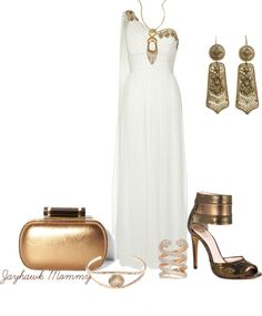 """Egyptian Goddess"" by jayhawkmommy ❤ liked on Polyvore"