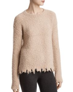 Atm Anthony Thomas Melillo Alpaca-Blend Boucle Sweater