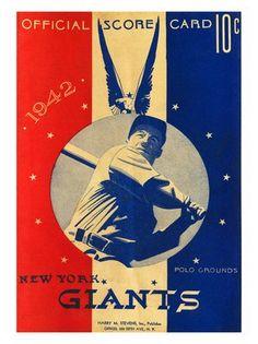 NU Gants baseball 1942