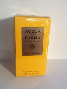 COLONIA INTENSA by Acqua Di Parma 100 ml/ 3.4 oz After Shave Lotion Sealed Pack
