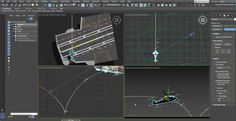 How to Use Motion Paths and Bezier in 3ds Max