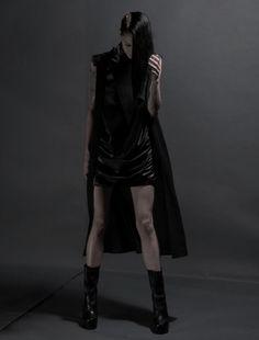 """Future Fashion. Area di Barbara Bologna - """"Inferno"""" collection - A/W 2012-13. Futuristic Style, black clothes, futuristic clothing"""