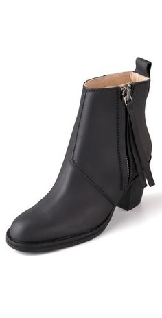 Acne Pistol Short Booties - cute, but I need a lower heel - please shoe people, make some cute low heel shoes & boots...