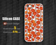 Iphone 5 case  silicone case for Soft Rubber Silicon by Atwoodting, $16.99
