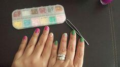 Manicure creado x Xime ♡