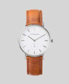 Silver / Tan Leather | The Classic | The Horse
