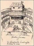 plan of Globe, reconstructed in Cedar City Cedar City, Shakespeare Plays, Over The Years, Paris Skyline, Globe, Stage, London, World, Travel