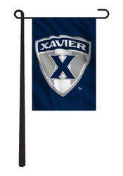 Xavier Musketeers 13x18 Navy Garden Flag