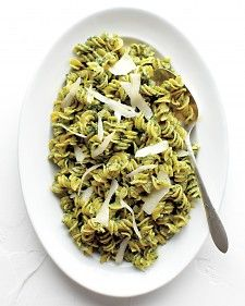 Expand your idea of pesto with this spinach and walnut combo.