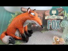 Fox cake topper from the Gruffalo - YouTube