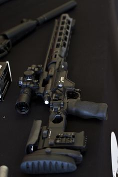 Remington Modular Sniper Rifle.  I would definitely make room for this in my kit.