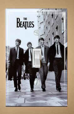The Beatles Walking Light Switch Plate Cover Wallplate on Etsy, $11.38 CAD