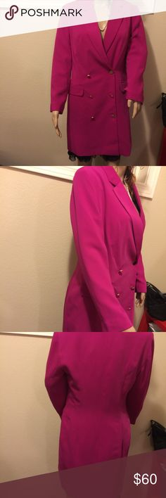 NWT Top Shop jacket pink 8 Cute button up jacket size 8 Top shop $125 Topshop Jackets & Coats Blazers