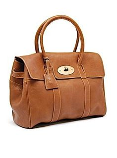 Mulberry Bayswater Satchel in Brown