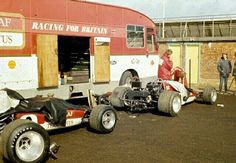 John Miles and Jochen Rindt, Team Gold Leaf Lotus, Silverstone 1970