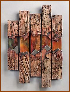 JANEY SKEER CLAY & STEEL - DENVER ARTIST - Gallery of Works - Wall Pieces
