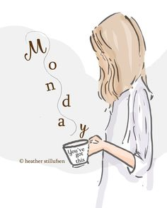 "Monday morning coffee and pinning helps the Pinterest world go ""around"" a new week. XoXo Isabelle XoXo"
