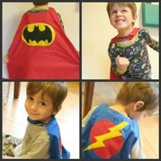 DIY Superhero Cape from For the Boys