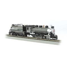 Bachmann U.P. 4443 HO Scale Usra 0-6-0 Locomotive withSmoke and Vanderbilt Tender - DCC On Board - $95