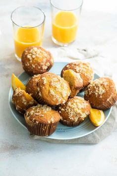 With only a few simple ingredients that are pantry staples making muffins is a great way to conquer these busy school day mornings. Get the recipe for these easy to make Orange Muffins with Florida OJ here at Foodness Gracious Breakfast For Dinner, Breakfast Dishes, Breakfast Recipes, Brunch Recipes, Breakfast Ideas, Bakery Muffins, Orange Muffins, Chocolate Cake Recipe Easy, Pastry Recipes