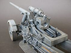 Scale Models, Wwii, Guns, Germany, Africa, Miniatures, Military, Cannon, Weapons Guns