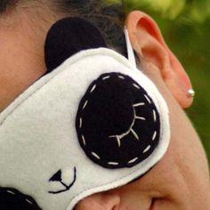 Cute Sleeping Panda Eye Mask Sleep better feel cute by lenekonoir