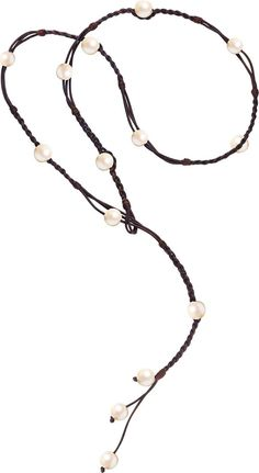 Bohemian Lariat, Freshwater and Tahitian - Hottest Designer Pearl and Leather Jewelry Pearl Jewelry, Boho Jewelry, Fine Jewelry, Jewelry Necklaces, Jewelry Art, Handmade Jewelry, Bracelets, Jewellery, Tahitian Pearl Necklace