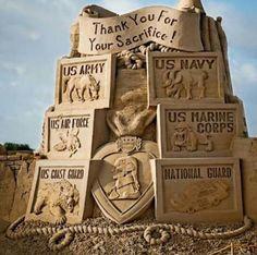 Incredible Sand-Sculpture
