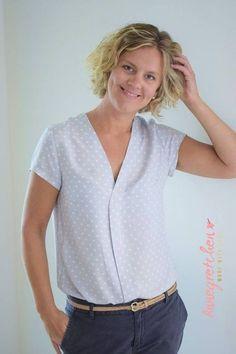 Schnittmuster / Ebook lillesol women No.30 Marisol Bluse / Nähen Shirt / Damen / Sewing pattern blouse
